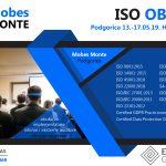 ISO OBUKE 13.05. -17.05.2019. HOTEL PHILIA PODGORICA